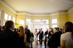 Wedding ceremony at Josephine Butler Parks Center in Washington, DC