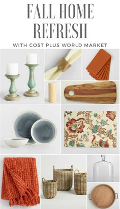 Simple Ways To Bring Autumn Into Your Home by @gingersnaps1943 for Cost Plus World Market #WorldMarket Family & Living Room Home Decor