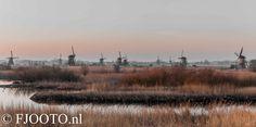 Molens Kinderdijk, Holland. More at www.fjooto.nl  and order them at http://johnouwens.werkaandemuur.nl
