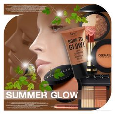 """""""SUMMER GLOW"""" by nanawidia ❤ liked on Polyvore featuring beauty, NARS Cosmetics, Bobbi Brown Cosmetics, Laura Geller, Gucci and Dermablend"""
