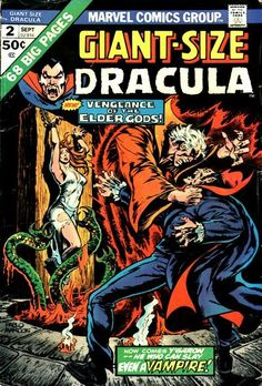 Dracula Giant Size marvel dracula comic - Google Search