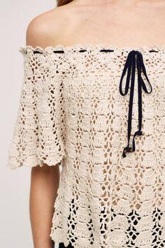 Anaelle Crochet Pullover
