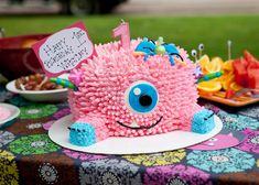Girls' Birthday Party Ideas: Monster Theme! #kidsbirthday #partyideas #peartreegreetings