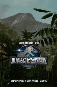 Jurassic World coming...  So exciting =)
