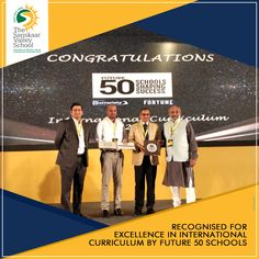 Adding another feather to the cap, The Sanskaar Valley School has been bestowed with yet another accolade. TSVS has made it to the list of Top 50 Schools and has been recognized as 'Future 50 Schools Shaping Success', under the International Curriculum Category for the year 2018. We congratulate all our students, parents and teachers for this achievement. #TSVS #ShikharStudents #SopaanStudents #AadharStudents #PranganStudents #SVN Future School, Curriculum, Schools, Parents, Feather, Students, Success, Cap, How To Make