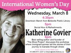 Join us for International Women's Day and celebrate the social, economic, cultural and political achievements of women around the world.