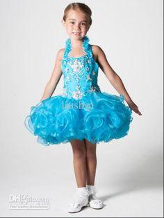 b98b90d67 58 Best Little Girl Short Pageant Dresses! images