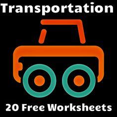 preschool transportation on pinterest transport vocabulary for kids