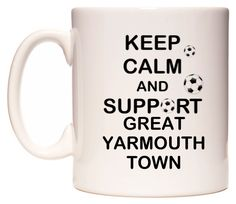 Keep Calm And Support Great Yarmouth  -  https://www.wedomugs.com/catalog/product/view/id/7514  #football #local #wedomugs #yarmouth