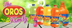 The Oros Family - Oros Products and Flavours