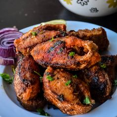 Fish fry Kerala style/ Meen Varuthadhu http://www.relishthebite.com/fish-fry-kerala-style-meen-varuthadhu/ Crispy and spicy fish fry made with kerala style homemade marination. This spicy aromatic fish fry can be eaten as an appetizer or goes well with biryani. :) #relishthebite #fishfry #southindianfood #indianrecipes #recipe #appetizer