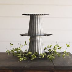 Yarrow Avenue Collection www.yarrowavenuecollection.com Farmhouse Style Farmhouse Online Store Home Decor Online Store galvanized metal stand | galvanized metal | candle stand | farmhouse style