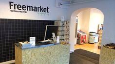 Si chiama Freemarket e ha aperto a Copenhagen a metà agosto. Ai propri clienti chiede pubblicità sui social network in cambio di prodotti gratis