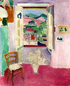 Ventanal, del maestro Henri Matisse.