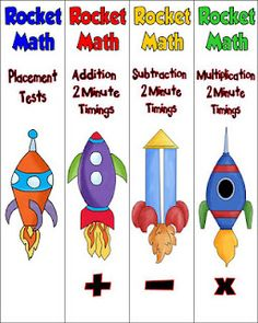 Rockin' Teacher Materials: rocket math - I use and love this program! Great to see ways to organize it!