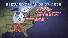 The Blizzard of '78 is a storm that many people in this part of the country won't forget.