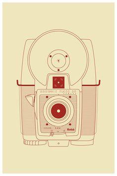 nyaaozawa:  Prints of Vintage Camera's» Design You Trust – Social design inspiration!