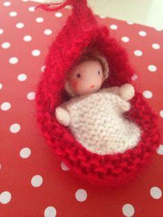 Baby waldorfdoll made by Else Besjes