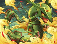 Pokemon - Rayquaza