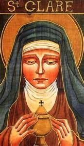 St. Claire of Assisi.