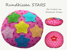 Stars pillow - by Elealinda-Design