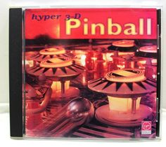Vintage Hyper 3-D Pinball PC CD-Rom By Virgin Interactive 1995 #VirginInteractive International Trade, Pinball, 3 D, Games, Store, Vintage, Ebay, Tent, Shop Local