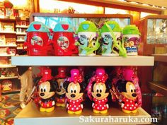 What to Buy in Disneyland - Disney Characters Kids Tumblers | #hongkong #hongkongdisneyland #disneyland #disney #shopping #souvenirs #omiyage