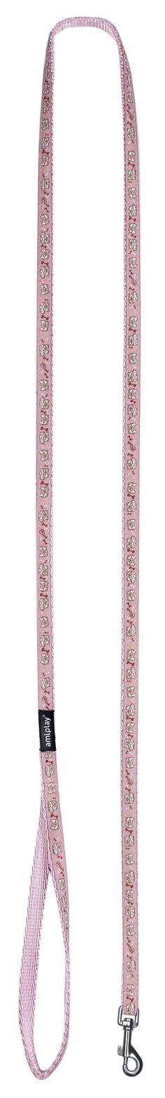 Amiplay Wink leash pink