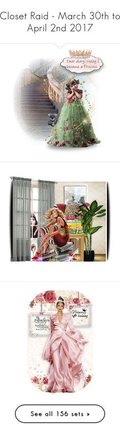 """Closet Raid - March 30th to April 2nd 2017"" by kiki-bi ❤ liked on Polyvore featuring art, Roland Mouret, Casadei, Dolce&Gabbana, 3.1 Phillip Lim, Oscar de la Renta, mules, Betsey Johnson, ESCADA and Nicholas Kirkwood"