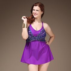 22c19e89b84 Aliexpress.com   Buy Plus Size One Piece Sexy Woman Swimsuit Big Size X  Cross Back Bathing Suit Skirt Design Swim Dress V Neck Big Breast Style 5XL  from ...