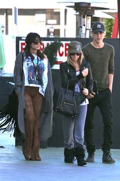 Vanessa Hudgens wears lace pants on date with Austin Butler
