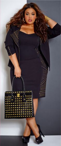 Andrea The Seeker : October 2013 - Curvy Girl Fashion & Inspirations Pt. Looks Plus Size, Curvy Plus Size, Trendy Plus Size, Plus Size Women, Curvy Girl Fashion, Plus Size Fashion, Plus Size Dresses, Plus Size Outfits, Full Figure Fashion