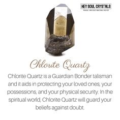Chlorite Crystal Meaning. #crystalmeanings crystal meanings and uses   Crystal meanings and uses  crystal meaning healing   Crystal / Meaning / Healing/ Balancing  