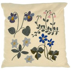 """Kesametsa"" = Summer Forest pillow"
