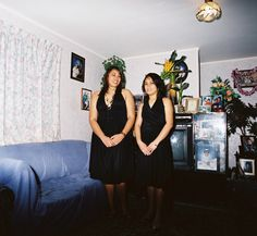 Edith Amituanai, The Crichton Sisters, 2009 Carrie White, Board Ideas, Documentaries, Sisters, Models, Portrait, Gallery, Artist, Photography