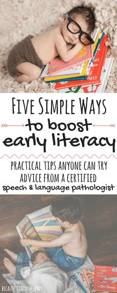 5 Simple Ways to Promote Early Literacy