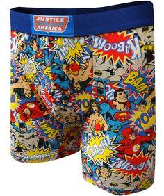 DC Comics Justice League America Boxer Brief
