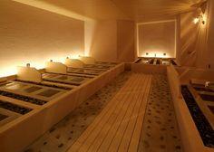 岩盤浴。店舗デザイン;名古屋 スーパーボギー http://www.bogey.co.jp