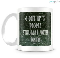 Funny design. 4 out of 3 people struggle with by JuiceGraphics