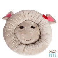 Martha Stewart Pets® Plush Hippo Bed  - PetSmart