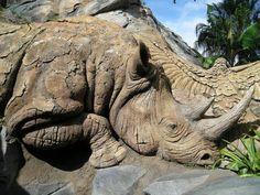 Rhino log in home decor