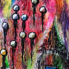 DETAILS FROM MY PAINTINGS  Suburbs III  My website:   #art #painting #artbylonfeldt