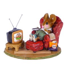 Little Couch Potato by Wee Forest Folk