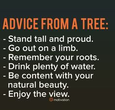 Lessons from nature.