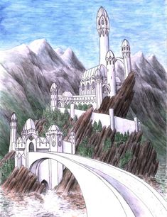 Tol Sirion was an island on the upper reaches of the River Sirion where Finrod Felagund built the tower of Minas Tirith to keep watch upon the doings of Morgoth on the northern plain of Ard-galen and prevent passage south by Orcs through the Pass of Sirion, the West Gate of Beleriand. It was under the command of Finrod's brother Orodreth. The island was renamed Tol-in-Gaurhoth after its capture by Sauron.