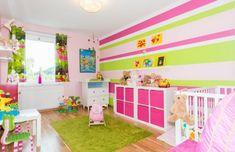 Kinderzimmer streichen - 20 bunte Dekoideen | Mia | Kids room paint ...