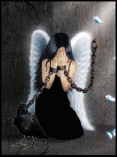 sad angel with butterflies Crying Angel, Sad Angel, Angel And Devil, Gothic Angel, Gothic Art, Dark Fantasy Art, Dark Art, Sad Fairy, Fairy Sketch