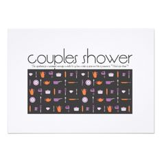 Shop Couples Shower Invitation - Kitchen created by OrangeOstrichDesigns. Funny Wedding Invitations, Couples Shower Invitations, Wedding Invitation Design, Couple Shower, Cute Wedding Ideas, Menu Cards, Recipe Cards, Rehearsal Dinners, Wedding Bride