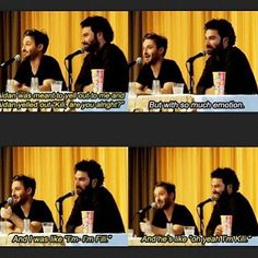 Dean O'Gorman and Aidan Turner - The whole world knows Kili's name... except the actor who plays him.