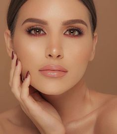 Makeup Looks That Will Make Your Brown Eyes Stand Out orange makeup look